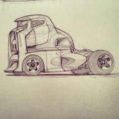 Awesome Scott Robertson truck