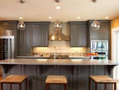 Painted Kitchen Cabinet Ideas | Ideas To Paint Kitchen Cabinets