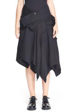 Y's by Yohji Yamamoto Patchwork Skirt | Nordstrom