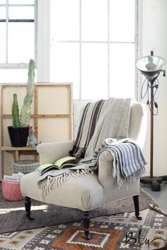 Cozy corners, Southwestern decor The Oaxaca Collection from Project Bly