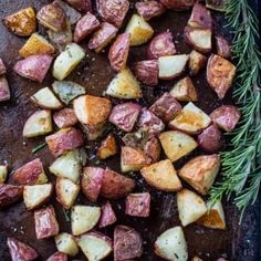 Restaurant Style Roasted Potatoes — Perfect Every Time - Hanger steak Smoked Pork Shoulder, Smoked Pork Ribs, Smoked Chicken, Smoked Lamb, Perfect Roast Potatoes, Oven Roasted Potatoes, Hanger Steak, Red Wine Reduction Sauce, Pork Belly Burnt Ends