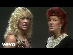 """ABBA - One Of Us """"One of us is crying, one of us is lying. staring at the ceiling wishing she was somewhere else instead. Music Sing, Good Music, My Music, Abba Videos, Music Videos, Love Songs Lyrics, Song One, Ma Baker, 1970s"""