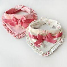 $2.07 - Baby Girl Kidborn Bibs Cotton Saliva Towel Princess Burp Feeding Bandana #ebay #Home & Garden