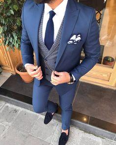 Suits – Page 7 – brabion Costume Slim, Mode Costume, Purple Suits, Black Suits, Black Men, Mens Fashion Suits, Mens Suits, All White Party Outfits, Grey Slim Fit Suit