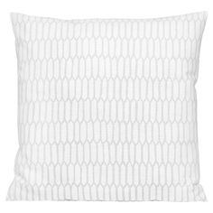 Scribble cushion cover, Kenno white