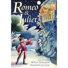 Adaptación de la obra de Romeo y Julieta con preciosas ilustraciones.