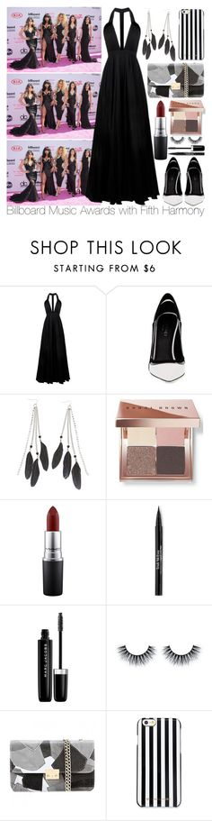 """""""Billboard Music Awards with Fifth Harmony"""" by inyene105 ❤ liked on Polyvore featuring La Mania, Greymer, Charlotte Russe, Bobbi Brown Cosmetics, MAC Cosmetics, Trish McEvoy, Marc Jacobs and MICHAEL Michael Kors"""