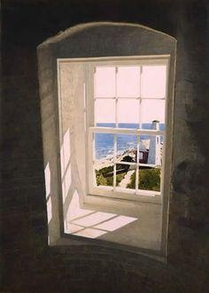 Lighthouse Window - Gary Akers