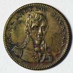Andrew Jackson medal, 1828