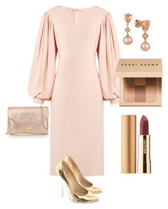 """Untitled #134"" by ladynat on Polyvore featuring Osman, Giuseppe Zanotti, Loeffler Randall, LE VIAN, Bobbi Brown Cosmetics and Axiology"
