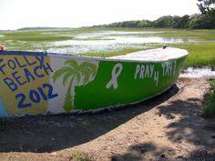 Folly Beach Boat