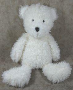 Jellycat Angora Plush Blizzard Polar Bear White Teddy Stuffed Animal Toy #Jellycat