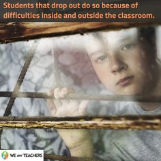 Dropout prevention resources:  What to say, Posters, program info..
