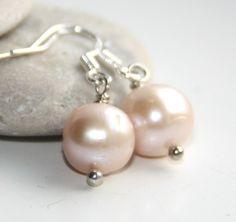 Fresh Water, Handmade Jewelry, Shops, Pearl Earrings, Pearls, Shopping, Fashion, Moda, Tents