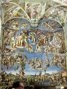 Sistine Chapel - Wikipedia, the free encyclopedia michelangelo's breathaking ceiling frescoes Rome