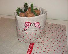 Vianočný košík by HomeCharm - SAShE.sk - Handmade Vianoce