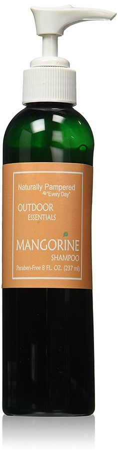 Naturally Pampered Nourishing Shampoo, Tropical Mangorine,  8 Ounce -- Be sure to check out this awesome product. (This is an Amazon affiliate link)