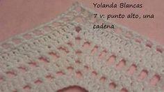 Poncho tejido a crochet paso a paso con clase magistral