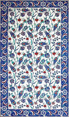 Osmanlı çini motifleri