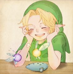 Young Link, along with Tael and Tatle \( 'ω')/