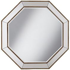 Pinterest the world s catalog of ideas for Octagon beveled mirror