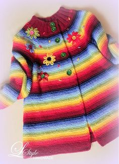 """Merry"" sweater ... a little differently :) by L-Style - SAShE.sk - Handmade Baby Clothes"