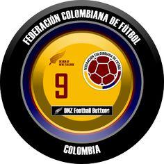 DNZ Football Buttons: Seleção da Colômbia