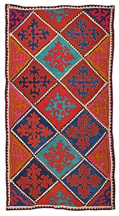 Felt - unique shyrdak felt rugs - Rugs from Kyrgyzstan www.feltrugs.co.uk/