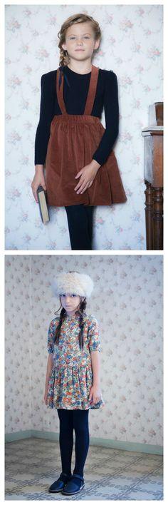 Milou & Pilou AW 15 - Charming girlswear with a gorgeous, nostalgic look