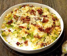 Pizokelgratin Lard, Potato Salad, Cauliflower, Potatoes, Dinner, Vegetables, Ethnic Recipes, Drinks, One Pot