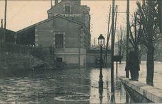 Maisons-Alfort - Inondations de Janvier 1910 - La Gare