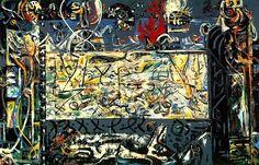 Jackson Pollock, Guardiani del segreto, 1943 #arte
