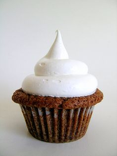 nutella cupcake with marshmallow frosting, what do you think?