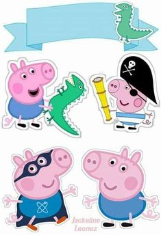 Danielle Holder's media content and analytics Bolo George Pig, Cumple George Pig, George Pig Party, Peppa Pig Gratis, Peppa Pig Bag, Peppa Pig House, Second Birthday Ideas, 3rd Birthday Parties, Birthday Party Decorations