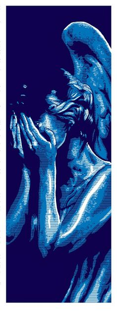 »✿❤Blue❤✿«Weeping Angel by Tim Doyle