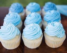 Ideas birthday cupcakes blue frosting recipes for 2019 Baby Shower Cupcakes For Boy, Cupcakes For Boys, Girl Cupcakes, Birthday Cupcakes, Baby Shower Cakes, Cupcake Cakes, Fun Cupcakes, Comida Baby Shower, Idee Baby Shower