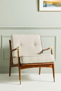 Soho Home x Anthropologie Haverhill Accent Chair Classic Furniture, Unique Furniture, Furniture Decor, Living Room Furniture, Furniture Design, Industrial Furniture, Pallet Furniture, Steel Furniture, Retro Furniture