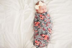 We Love these swaddle blankets! They are so soft and stretchy! They are a must have for babies. They are especially great to swaddle newborns