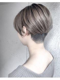 【Marl外国人風スタイル】マニッシュショートボブ