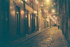 #Alley, #Lights, #Night