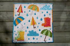 Happy Fall Mini Quilt Pattern + Tutorial | Sew Mama Sew | Outstanding sewing, quilting, and needlework tutorials since 2005.
