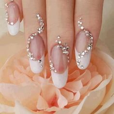 Wedding Nail Art Designs: Your Nails Never Looked So Glam. #nail #weddingnails