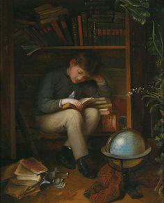 pintura de Eduard Swoboda (1814-1902)
