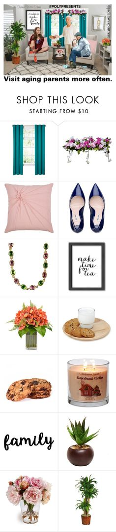 """""""Visit aging parents more often♡"""" by jadelovespintrest ❤ liked on Polyvore featuring Improvements, Rizzy Home, Americanflat, Frontgate, Nearly Natural, contestentry, polyPresents and resolutions"""