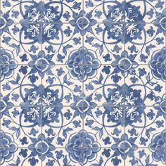 English Blue And White Transfer Tile For Sale Antiquescom - Blue and white tiles for sale