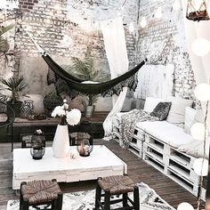 """19 Likes, 3 Comments - SoleHabitat (@solehabitat) on Instagram: """"Hello dream patio  We're in love!  by @thedustypoppy ... So cozy and comfy! • • • • •…"""""""