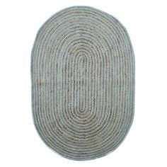 Natural Oval Rug Mint
