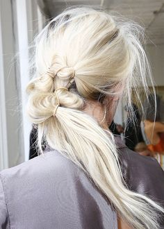 8 Pretty, Twisted Hairstyles for Party Season via @ByrdieBeauty