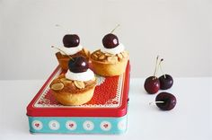 Bakewell Tartlets. By Cakelets and Doilies.