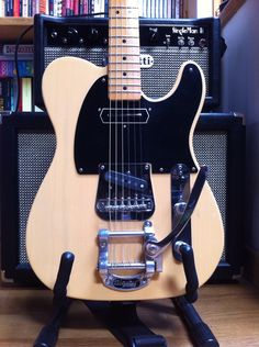 Fender Baja Telecaster with bigsby and Jason Lollar CC neck tele pickup
